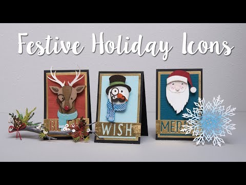 How to Make Festive Holiday Icons!