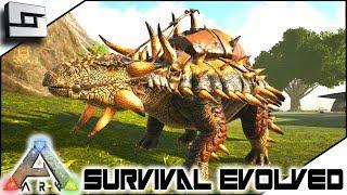 ARK: Survival Evolved - NEW ANKYLOSAURUS TAME! E13 ( Ark Ragnarok Map )