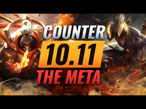 COUNTER THE META: How To DESTROY OP Champs for EVERY Role - League of Legends Patch 10.11