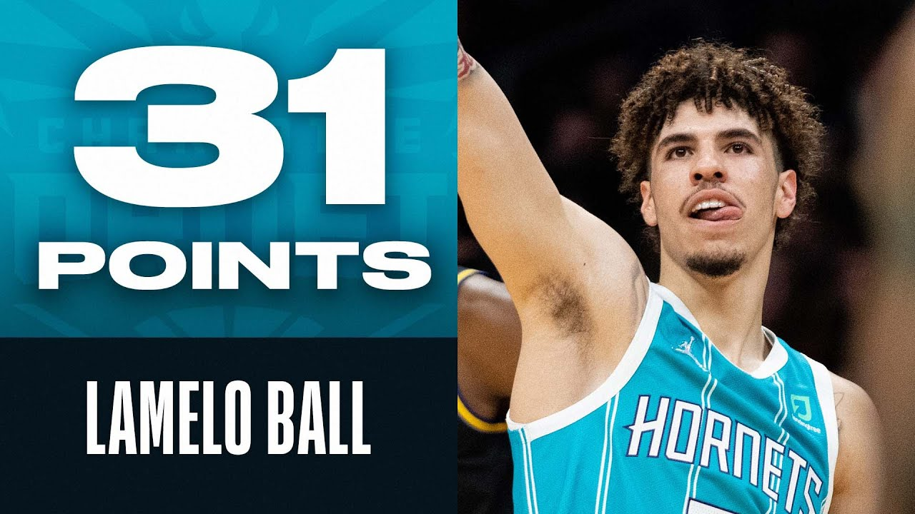 Lamelo Ball SHOWS OUT 31 PTS, 9 REB, & 7 AST in Season Debut 👀
