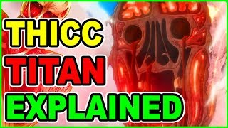 THICC 120 METER ROD TITAN EXPLAINED!   Attack on Titan Season 3 Colossal Titan Theory