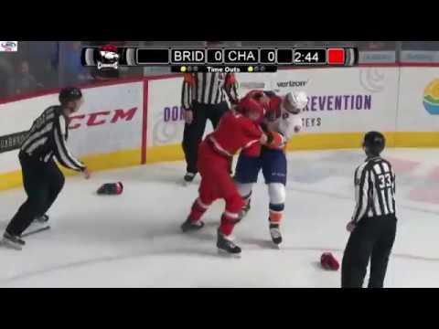 Trevor Carrick vs. Ben Holmstrom