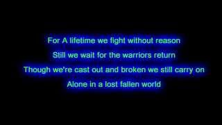 DragonForce - Fallen world | Lyrics on screen | HD