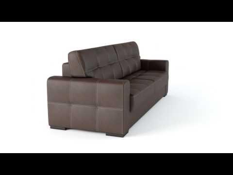 """прямой диван """"Барни, прямой диван"""" GENIUSPARK"""