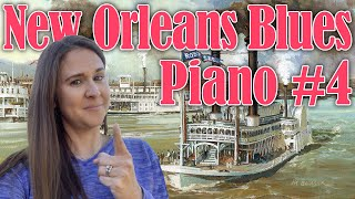 New Orleans Blues Piano Lick (Part 4)