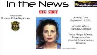 Yasmine Bleeth Arrested