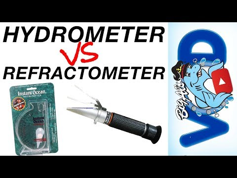 Measuring Salinity: Hydrometer VS Refractometer (Video)