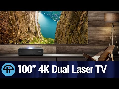 Hisense 100″ 4K Dual Color Laser TV Review