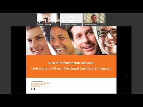 Paralegal Certificate Program Virtual Information Session - YouTube