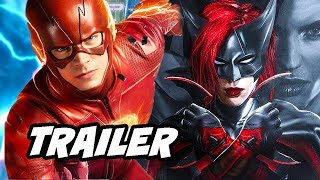 The Flash Season 5 Arrow Batwoman Trailer and Batwoman Casting Confirmed