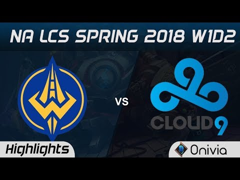 GGS vs C9 Highlights NA LCS Spring 2018 W1D2 Golden Guardians vs Cloud9 by Onivia