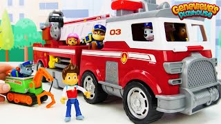Toy Learning Video for Kids with Paw Patrol Ultimate Rescue Vehicles!