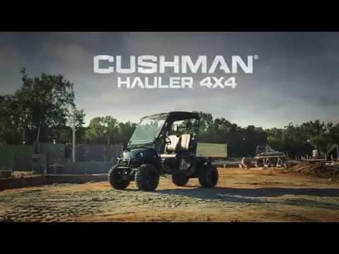2017 Cushman Hauler 4X4 Gas in Pikeville, Kentucky