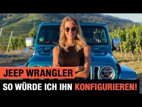 Bikini Jeep Wrangler 💙👙 So würde ich ihn konfigurieren! Review | POV | Unlimited JL Sahara | 2020