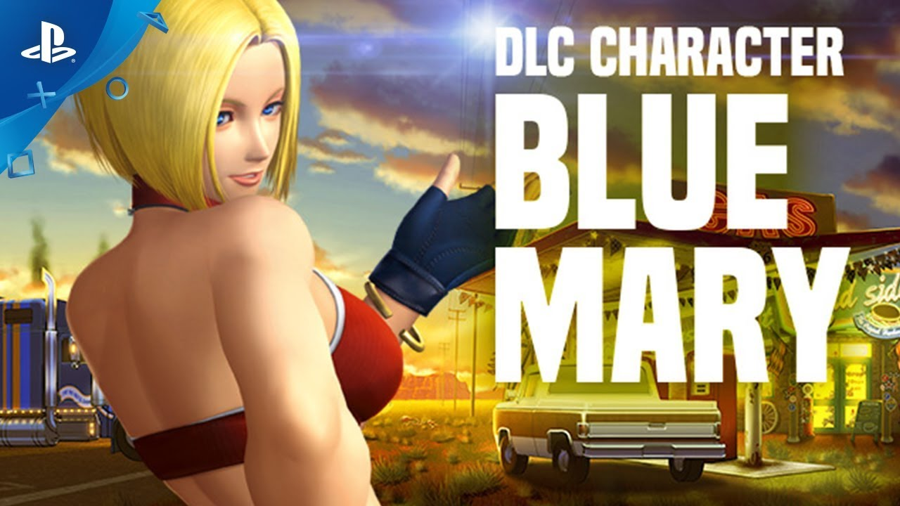 Fan-Favorite Character Blue Mary Joins the King of Fighters XIV Roster