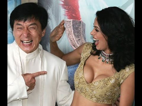 JACKIE CHAN WITH BOLLYWOOD INDIAN STARS