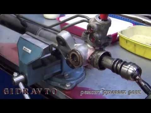 Ремонт рулевой рейки на Mitsubishi Montero.  Ремонт рулевой рейки на авто Mitsubishi Montero.