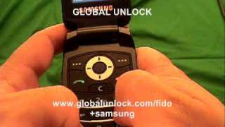 How to Unlock any Fido Samsung Phone