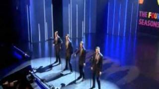 YouTube video E-card The Cast of Jersey Boys London perform at The Royal Variety Performance 2008 on 11th December