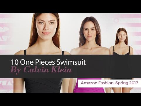 10 One Pieces Swimsuit By Calvin Klein Amazon Fashion, Spring 2017