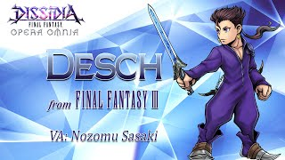 DISSIDIA FINAL FANTASY OPERA OMNIA - Desch