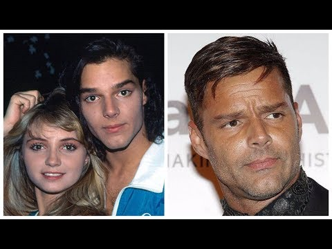 Ricky Martin transformation from 1 to 45 years old