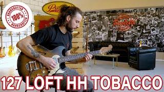 127 Lounge HH Tobacco – Paoletti Guitars
