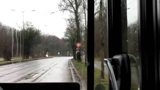 preview picture of video 'München Munich Bus Ride - Route 51 Moosach to Laim'