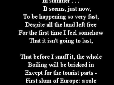 List of poems by Philip Larkin: Wikis