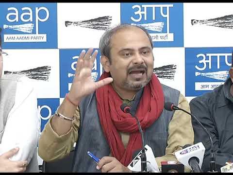 दिल्ली का राशन LG, BJP और राशन माफिया मिलकर खा रहे हैं