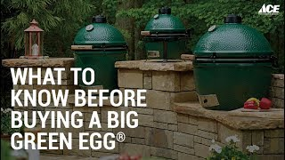 What To Know Before Buying The Big Green Egg - Ace Hardware