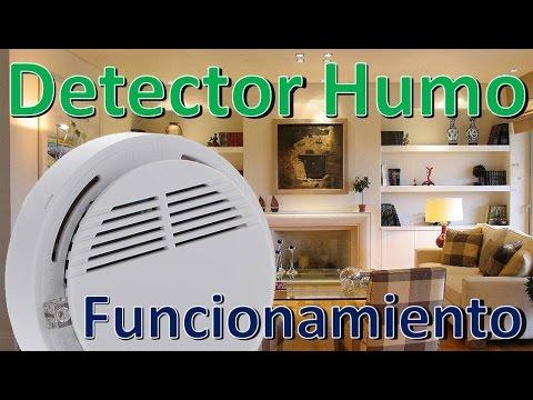 Detector de Humo Funcionamiento - Accesorios Kit de seguridad para el Hogar