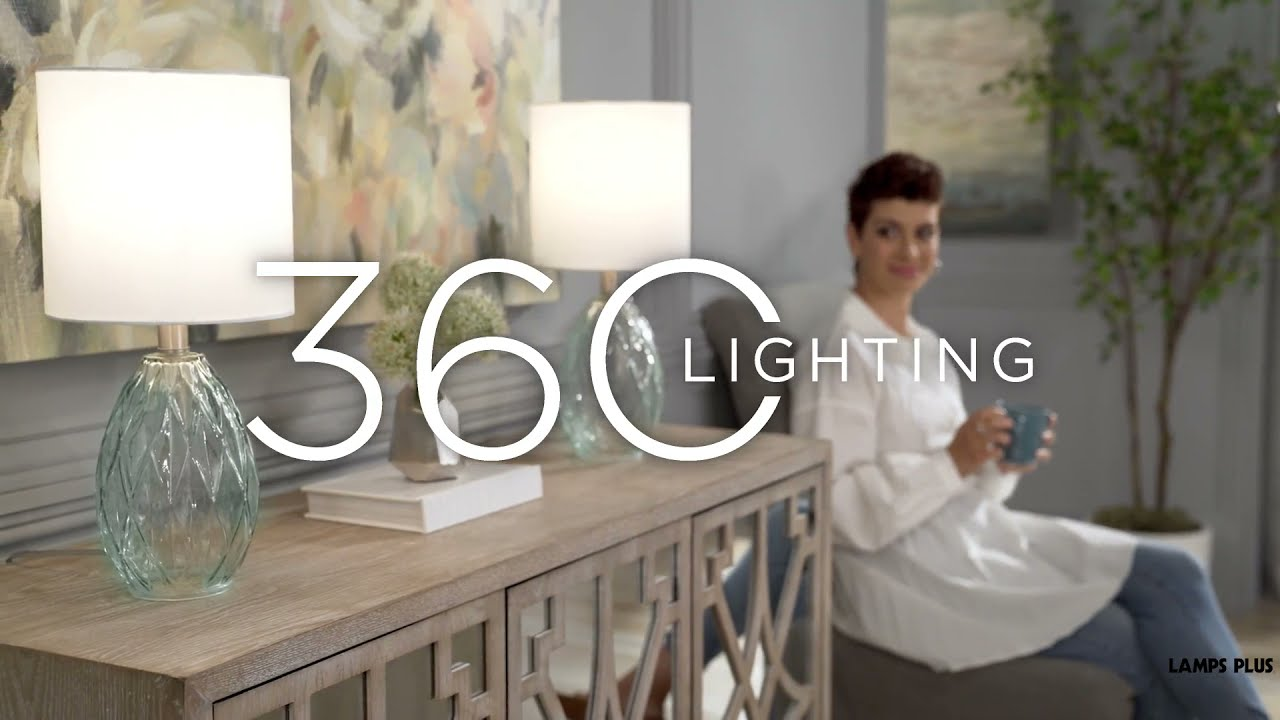 Watch A Video About the Rita Accent Table Lamp Set of 2
