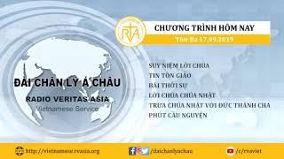 CHƯƠNG TRÌNH PHÁT THANH, THỨ BA 17092019