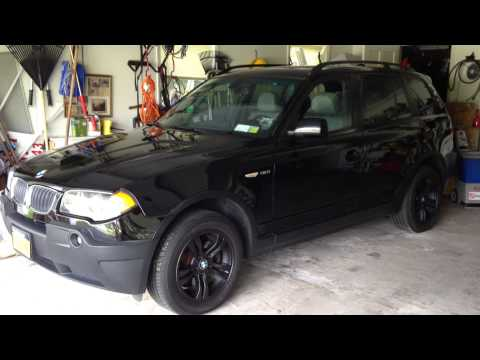 BMW X3 E83 plasti dipped wheels . How many cans you really need.