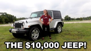 How I Made $10,000 Owning My Jeep Wrangler