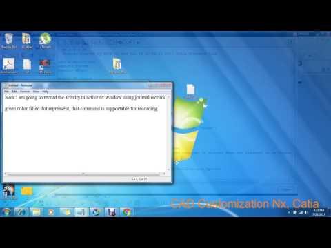 NX Jounal Tutorial 1 - Thủ thuật máy tính - Chia sẽ kinh