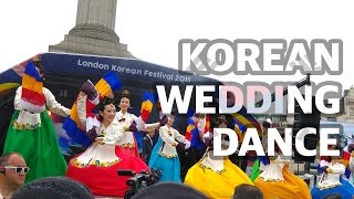 150809 Korean Royal Wedding Dance @ London Korean Festival [HD]