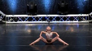 Lilliana Ketchman 7 years old Little Worrier Groove Competition First Overall