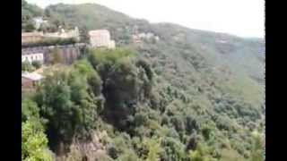 preview picture of video '2013 Roma   Lago Nemi   Genzano di Roma desde Nemi'