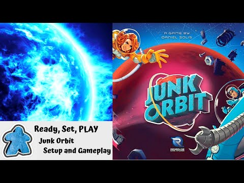 Ready, Set, PLAY - Junk Orbit Set Up and Gameplay