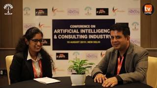 Artificial Intelligence will be super support to consultants | Nishith Pathak | Microsoft | GCDCP