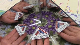 Part 2: Finishing Up The Kaleidoscope Quilt And Table Runner Block | LetsMake Quilting Tutorial