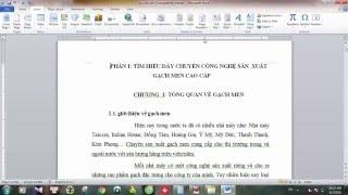 Hướng Dẫn Cách đánh Số Trang Trong Word 2010