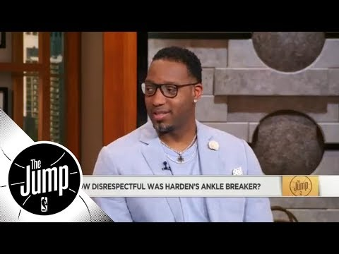 Tracy McGrady reveals the most disrespectful part of James Harden's crossover | The Jump | ESPN