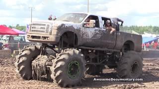 Super Duty Mud Trucks Gone Wild