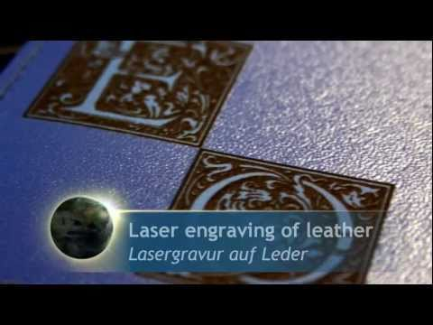 Personalised leather organisers | Laser marking