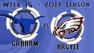 Graham Steers Football 2013 - Week 16 - Graham vs Argyle