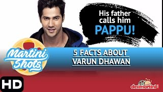 5 Facts About Varun Dhawan - Desimartini