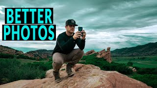 MOBILE PHOTOGRAPHY TIPS and TRICKS - Simple WAYS to CAPTURE BETTER PHOTOS